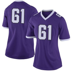Wil Houston Nike TCU Horned Frogs Women's Limited Football College Jersey - Purple