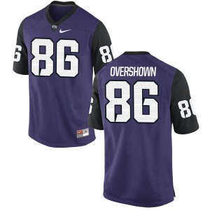 Gary Overshown Nike TCU Horned Frogs Youth Replica Football Jersey  -  Purple